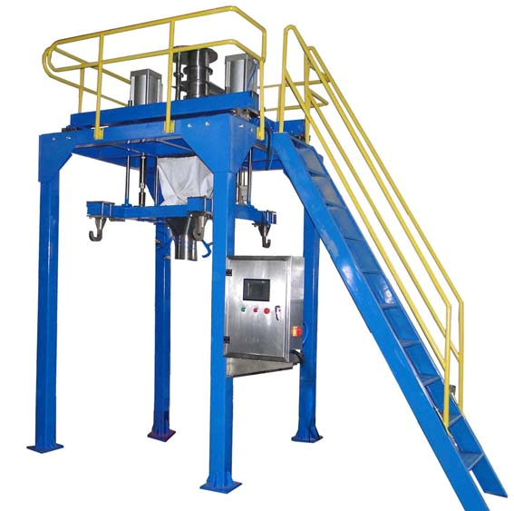 Ton bag packaging machine for large bulk cement sack bag filling machine