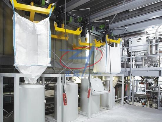 Ton bag packaging machine